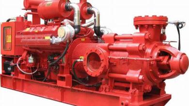 مضخة حريق الديزيل diesel engine